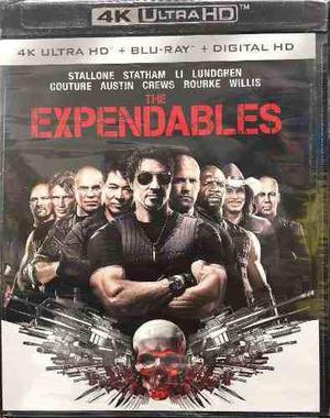 Blu Ray Los Indestructibles 2d - 4k - Stock - Nuevo