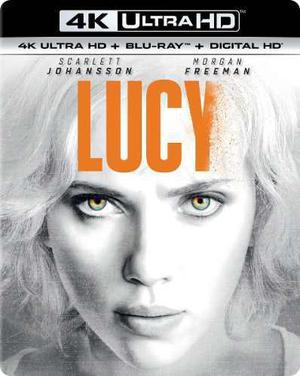 Blu Ray Lucy 2d - 4k - Stock - Nuevo - Sellado