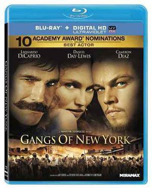 Blu Ray Pandillas De Nueva York - Stock - Nuevo - Sellado