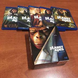 Blu Ray Planeta De Los Simios 5 Películas De Colección