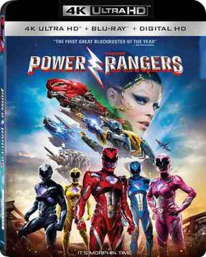 Blu Ray Power Rangers 2d - 4k - Stock - Nuevo - Sellado