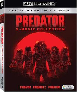 Blu Ray Predator Trilogía 2d - 4k - Stock- Nuevo - Sellado