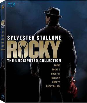 Blu Ray Rocky Collection - Stock - Sellado - Nuevo
