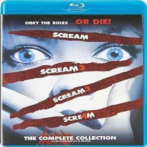 Blu Ray Scream Collection - Stock - Nuevo - Sellado