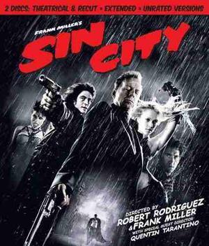 Blu Ray Sin City - Stock - Nuevo - Sellado