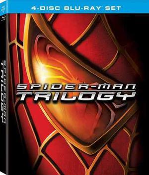 Blu Ray Spiderman Trilogía - Stock - Nuevo - Sellado