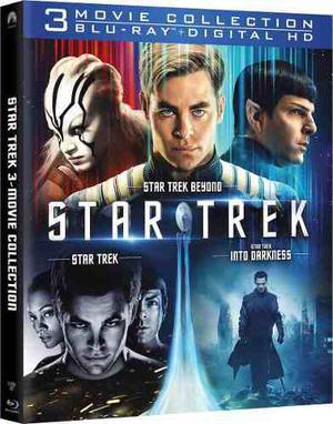 Blu Ray Star Trek Trilogía - Stock - Nuevo - Sellado