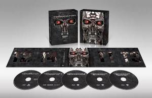 Blu Ray Terminator Antología - Stock - Nuevo - Sellado