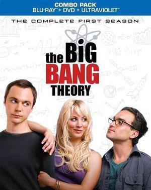 Blu Ray The Big Bang Theory: 1ra. Temporada- Stock - Sellado