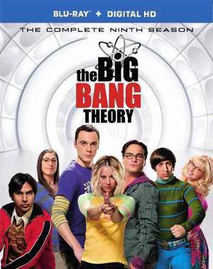 Blu Ray The Big Bang Theory: Temporada 9 - Stock - Nuevo