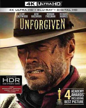 Blu Ray Unforgiven (Los Imperdonables) 2d - 4k - Stock