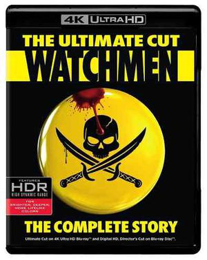 Blu Ray Watchmen 2d - 4k - Stock - Nuevo - Sellado