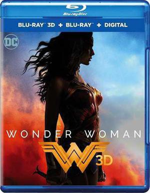 Blu Ray Wonder Woman 3d - 2d - Stock - Nuevo - Sellado