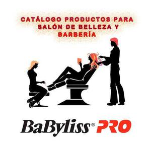 Catálogo De Planchas De Cabello Y Secadoras Babyliss Pro