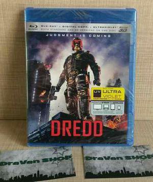 Dredd 3d Blu Ray Película. Stock Entrega Inmediata