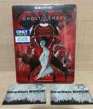 Ghost In The Shell Steelbook 4k Blu Ray Película