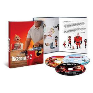 Los Increibles 2 Gallery Book 4k Pelicula Bluray