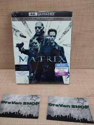 Matrix 4k Slipcover Nuevo Sellado Original Stock