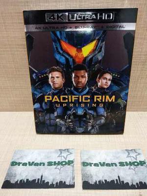 Pacific Rim Uprising 4k Película Blu Ray Nuevo Original