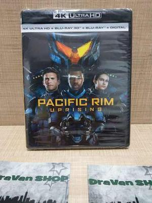 Pacific Rim Uprising Blu Ray 3d 4k Pelicula