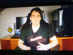 Televisor/monitor Aoc Led 24 Delgado Full Hd 1080p