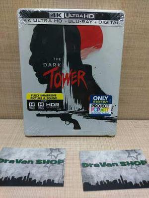 The Dark Tower 4k Steelbook Blu Ray Película Stock