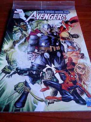 Avengers Free Comic Book Day 2011 Perú 21 Sellado!!!