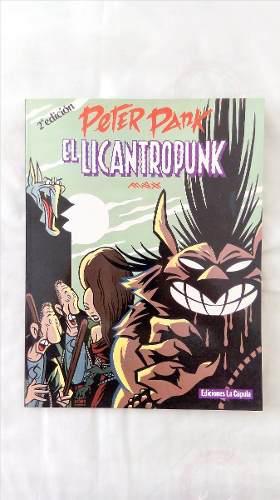 Comic Peter Pank, El Licantropunk, De Max.