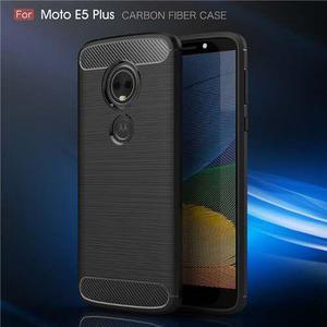 Funda Fibra Carbono Motorola Moto E5 Plus E4 Plus Z3 Play