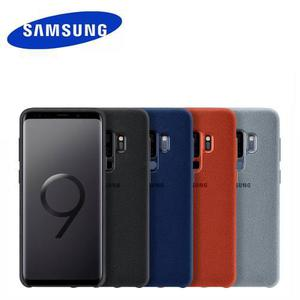 Funda Original Para Samsung Galaxy S9 Y Plus Alcantara Cover