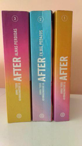 Libro After 1,2 Y 3 Libro Original Buen Estado - 120 Soles