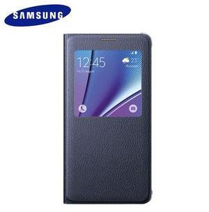 Samsung S-view Flip Cover Para Note 5 Funda Estuche Original