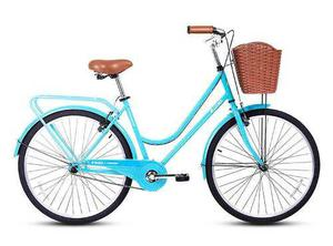 Bicicleta De Paseo City Retro Para Mujer