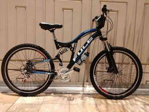 Bicicleta Fuller Americana Montañera Doble Suspensión.