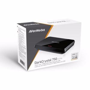 Capturador De Video Avermedia Darkcrystal 750 Sdk (a Pedido)