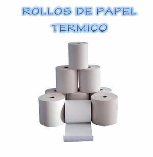 Rollos De Papel Termico 80 X 80