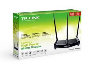 Router Inalámbrico N De Alta Potencia De 450mbps Tl-wr941hp