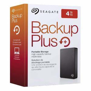 Disco Portátil 4tb Seagate Backup Plus Usb 3.0, Nuevo