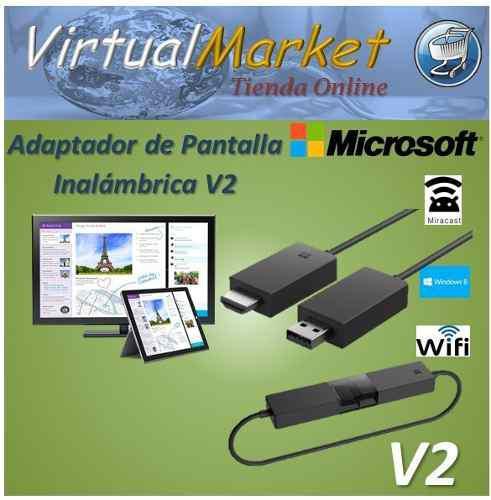 Adaptador Wireless Display Microsoft V2 Windows Miracast