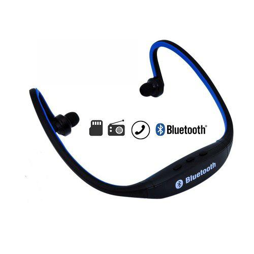 Audífono Bluetooth Deportivo Bs19c (fm, Micro Sd, Micróf)