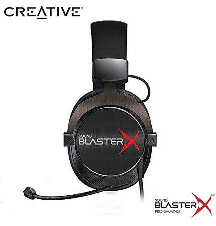 Audifono C/microf. Creative Gaming H7 Tournament Sbx Black
