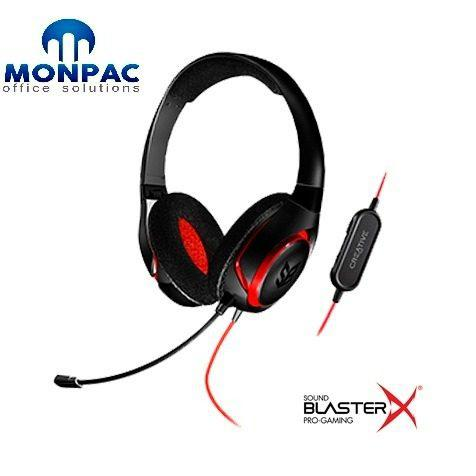 Audifono C/microf. Creative Gaming Inferno Sbx L9black