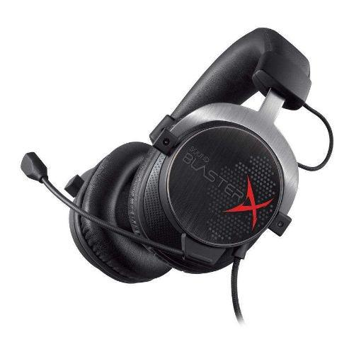 Audifono C/microf. Creative Sound Blaster X H5 Black Gaming