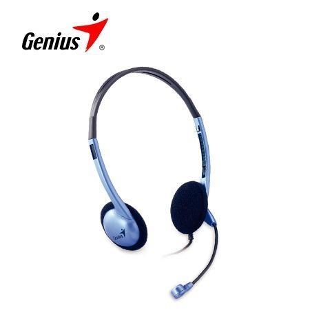Audifono C/microf. Genius Hs-04s Noise Cancelling Blue