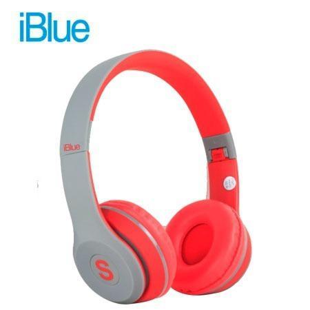 Audifono C/microf. Iblue Scream S019 Bluetooth/fm/micro Sd G