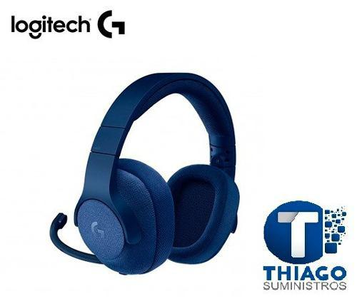 Audifono C/microf. Logitech G433 7.1 Gaming Blue