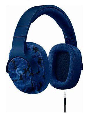 Audifono C/microf. Logitech G433 7.1 Gaming Blue Camo