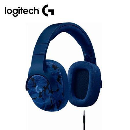 Audifono C/microf. Logitech G433 7.1 Gaming Blue Camo (pn 98