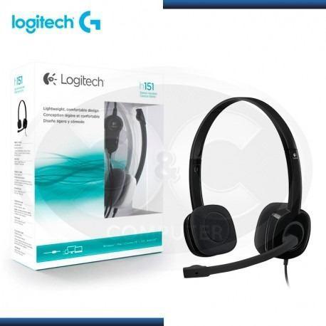 Audifono C/microf. Logitech H151 Stereo Black