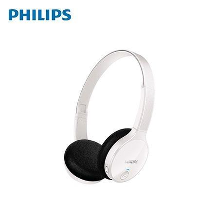 Audifono C/microf. Philips Bluetooth Shb4000wt White